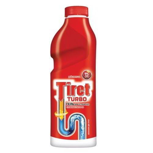Средство для удаления засоров Tiret Turbo 1 л