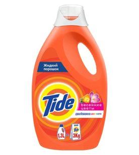 Жидкий стиральный порошок Tide Весенние цветы 1