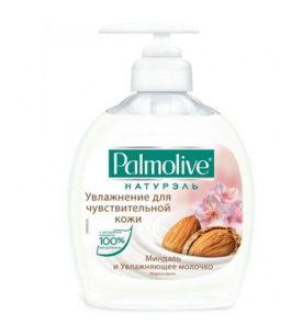 Жидкое мыло Palmolive Увлажнение. Миндаль и увлажняющее молочко 300 мл