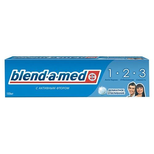 Зубная паста Blend-a-Med 3 Эффект. Деликатное отбеливание 100 мл