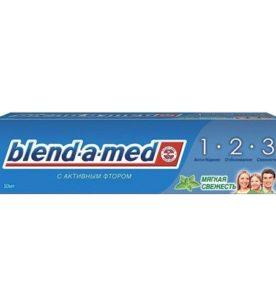 Зубная паста Blend-a-Med 3 Эффект. Мягкая свежесть 50 мл