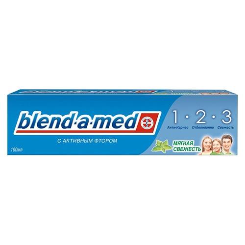 Зубная паста Blend-a-Med 3 Эффект. Мягкая свежесть 100 мл