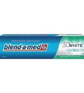 Зубная паста Blend-a-Med 3D White Свежесть. Мятный Поцелуй 100 мл