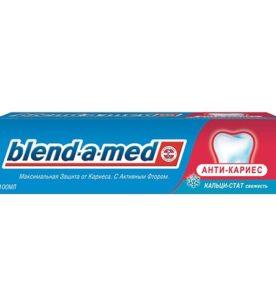 Зубная паста Blend-a-Med Анти-Кариес. Кальци-стат мята 50 мл