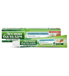 Зубная паста Лесной бальзам Экстракт ромашки и масло облепихи 75 мл