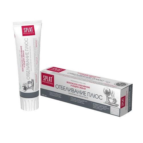 Зубная паста SPLAT Professional Отбеливание плюс 100 мл