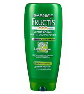 Бальзам для волос Fructis Объем и восстановление 200 мл