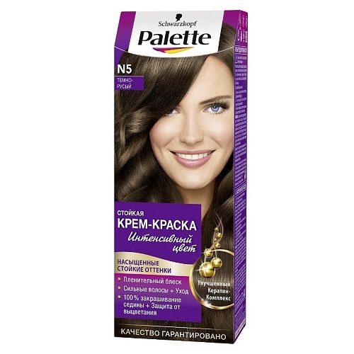 Краска для волос Palette N5 Тёмно-русый  1 шт