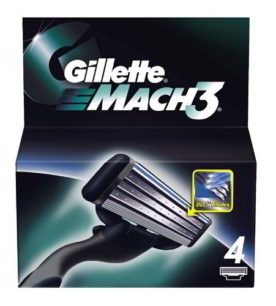 Кассета Gillette МАСН3 4 шт