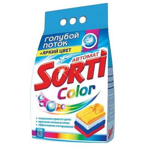 Стиральный порошок Sorti Color 3 кг