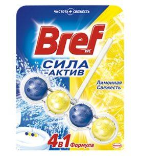 Чистящее средство Bref Лимонная свежесть 51 г оптом