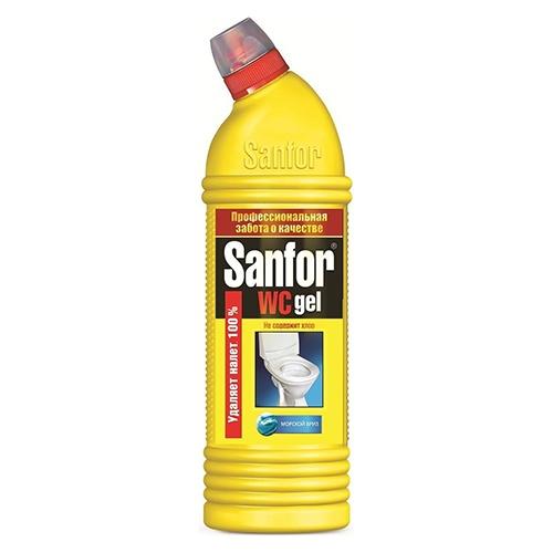 Чистящее средство Sanfor WC гель