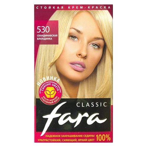 Краска для волос Fara Classic Тон 530 скандинавская блондинка 135 мл оптом