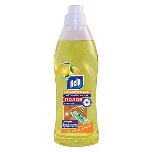 Моющее средство для полов Help Лимон 1 кг оптом