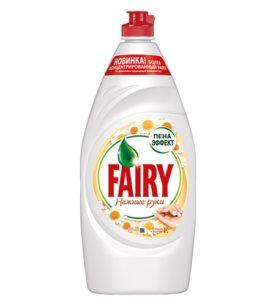 Средство для мытья посуды Fairy Нежные руки