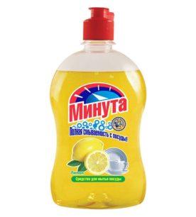 Средство для мытья посуды Минута Лимон 500 мл оптом