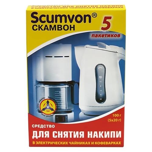 Средство от накипи Scumvon Для чайников и кофеварок 100 г оптом