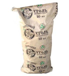 Уголь древесный ЭКО Березовый 10 кг оптом