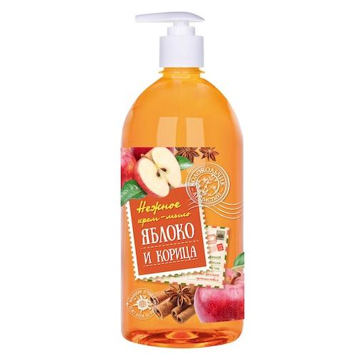 Жидкое мыло Колокольчик Яблоко и корица, 1 л