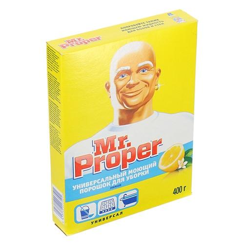 Чистящее средство Mr.Proper Лимон 400 г оптом