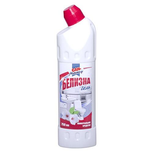 Чистящее средство Сан-Мастер Белизна гель 750 мл оптом