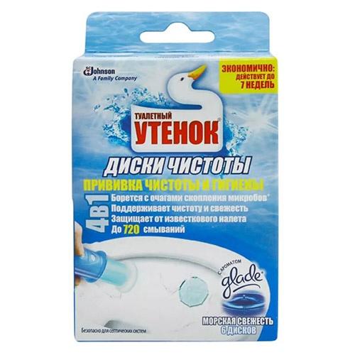 Чистящее средство для туалета Туалетный Утёнок Морская свежесть
