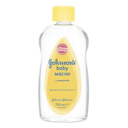 Детское масло Johnson's baby С ромашкой 200 мл оптом