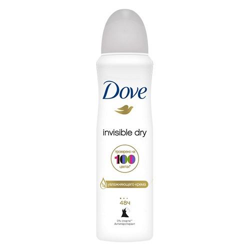 Дезодорант спрей Dove Invisible Dry 150 мл оптом