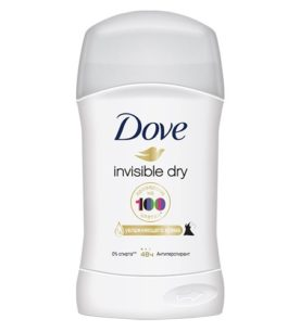 Дезодорант стик Dove Invisible Dry 40 мл оптом