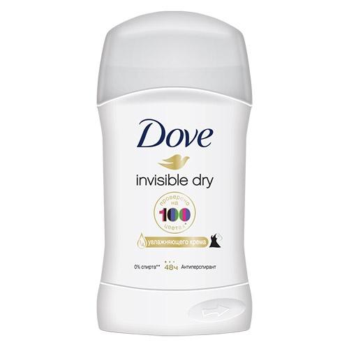 Дезодорант стик Dove Invisible Dry 40 мл оптом