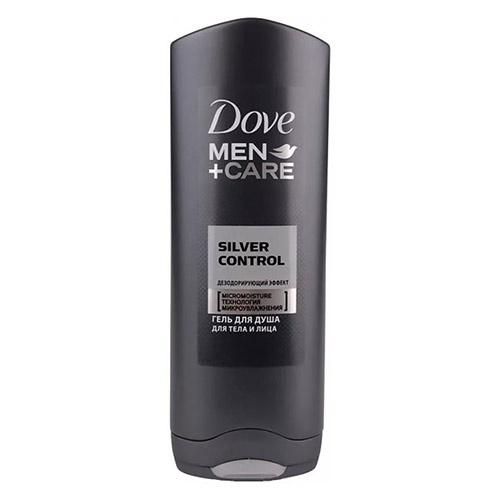 Гель для душа Dove Серебряный заряд 250 мл оптом