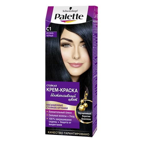 Краска для волос Palette С1 Иссиня-Черный 110 мл оптом