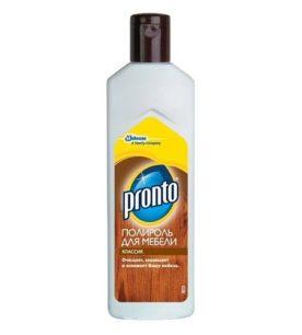 Крем-полироль для мебели Pronto Классик 300 мл оптом