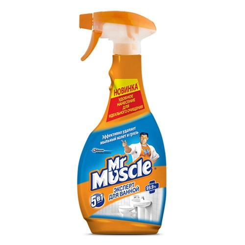 Моющее средство Mr. Muscle Новая формула 5в1 500 мл оптом