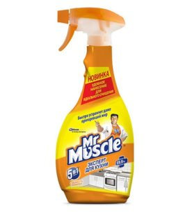 Моющее средство Mr. Muscle Свежесть лимона 500 мл оптом