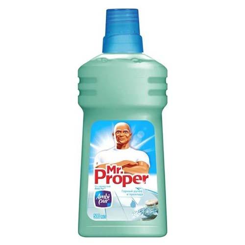 Моющее средство Mr.Proper Горный ручей и прохлада 500 мл оптом