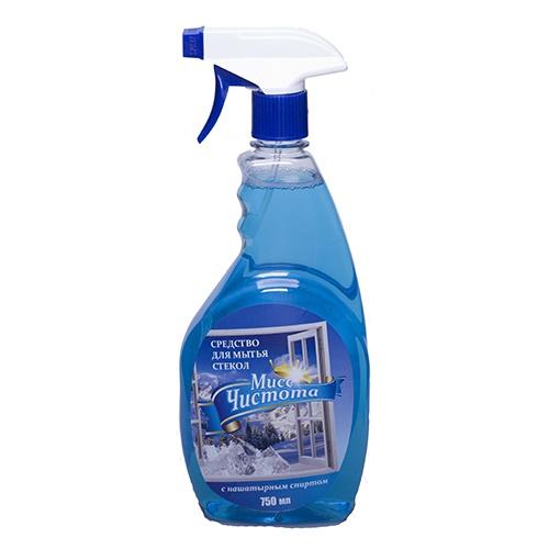 Моющее средство для стекол Мисс Чистота Кристалл 750 мл оптом