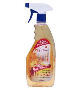Моющее средство для стекол Мисс Чистота Осень 500 мл оптом