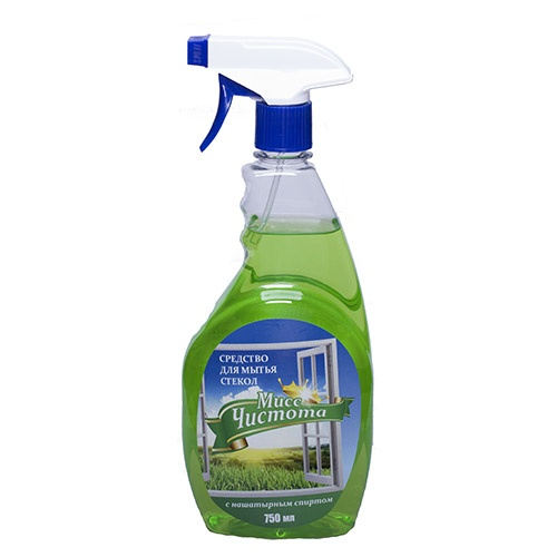 Моющее средство для стекол Мисс Чистота Свежешкошенная рава 750 мл оптом