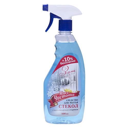 Моющее средство для стекол Мисс Чистота Зима 500 мл оптом