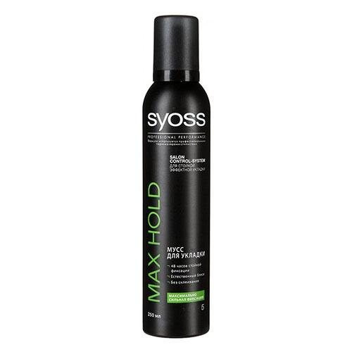 Мусс для волос Syoss MAX HOLD 250 мл оптом