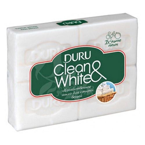 Мыло Duru Clean&White (4 шт) 125 г оптом