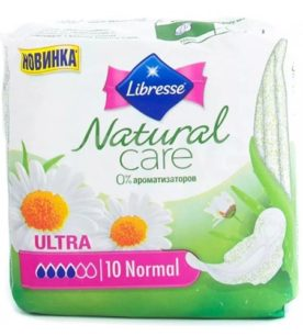 Прокладки Libresse Natural Care Ultra