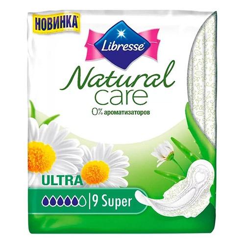 Прокладки Libresse Natural Care