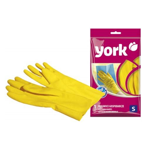 Резиновые перчатки York Размер S 1 шт оптом