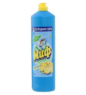 Средство для мытья посуды Миф Лимонная свежесть 1 л оптом