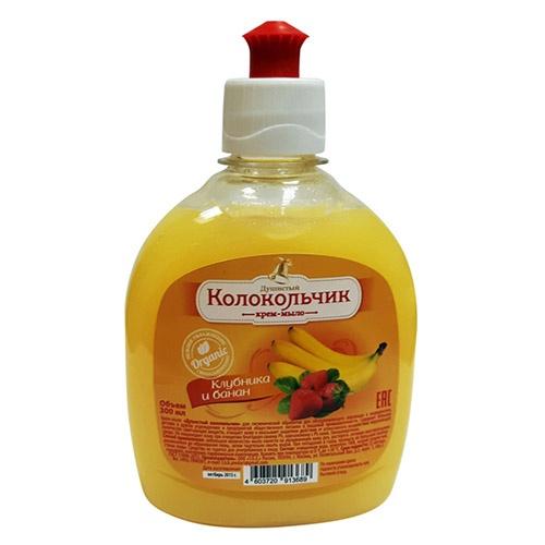 Жидкое мыло Колокольчик Клубника и Банан 1 л оптом