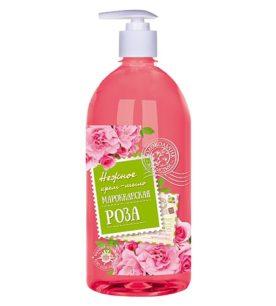 Жидкое мыло Колокольчик Марокканская роза 1 л оптом