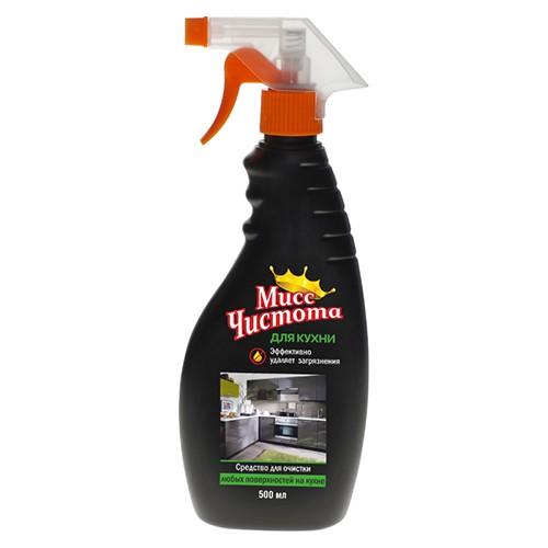 Чистящее средство Мисс Чистота Для очистки любых поверхностей на кухне 500 мл оптом