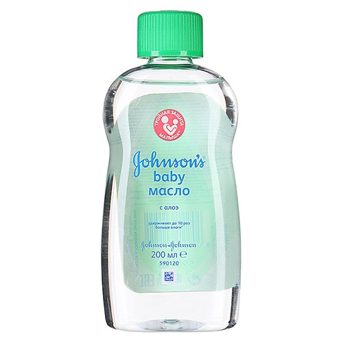 Детское масло Johnson's baby С алоэ 200 мл оптом